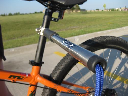 hands free bike leash
